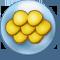 Goldene Fischschuppe